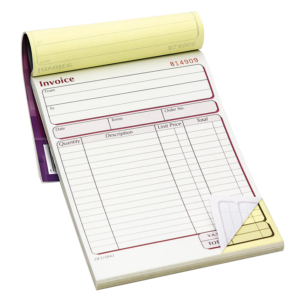 Blank Carbonless NCR Forms