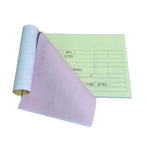 Custom Carbonless Receipt Books by thecarbonlessforms