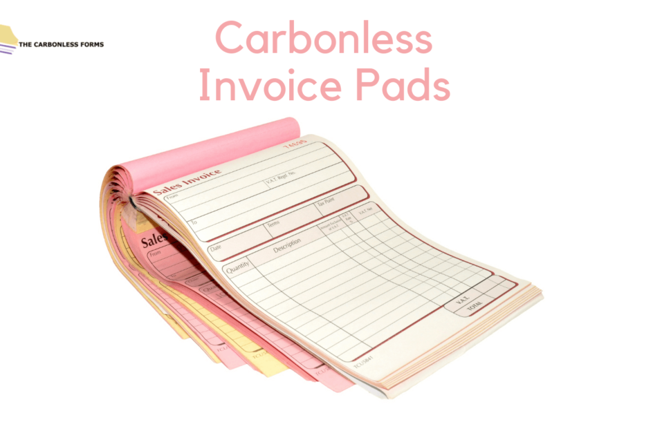 Carbonless Invoice Pads